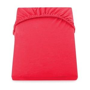 Červená elastická plachta DecoKing Nephrite Red, 140-160 cm