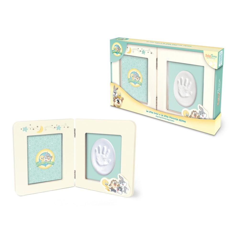 aa7f97937 Rámik na odtlačok detskej ručičky s farbami Tnet Looney Tunes, 32 x 119 x 2