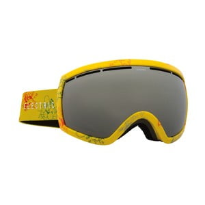Dámske lyžiarske okuliare Electric EG25 Cartoon Yellow, veľ. M
