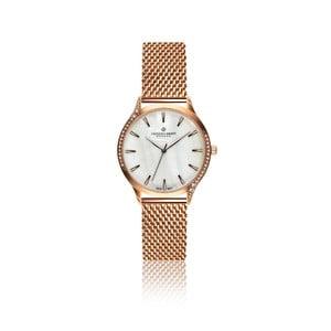 Dámske hodinky s remienkom v ružovozlatej farbe Frederic Graff Clariden