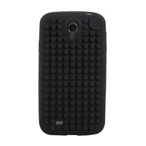 Pixelový obal na Samsung S4, čierna