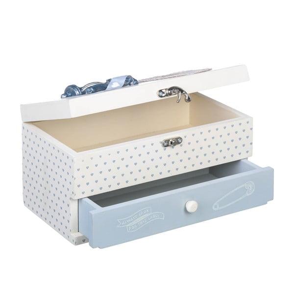 Krabička na šitie Sewing Box, 24x13 cm