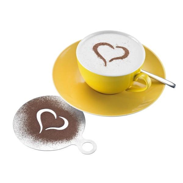 Sada 3 zdobítok na cappuccino Westmark