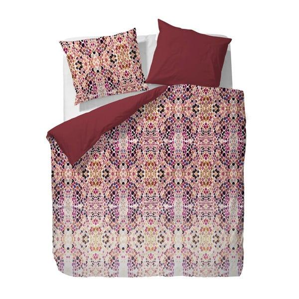 Obliečky Essenza Lilah Red, 135x200 cm