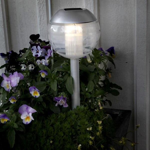 Solárne svetlo na záhradu Modern, výška 30 cm