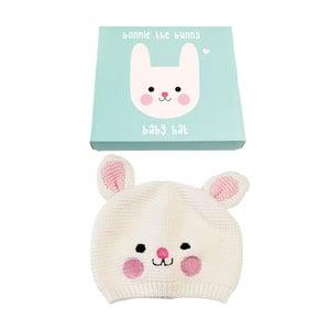 Detská čiapočka zo 100% bavlny so zajačikom Rex London