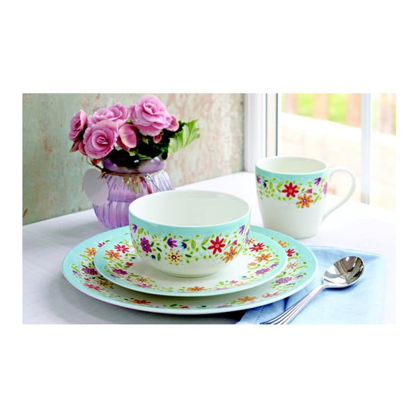 Tanier Churchill China Caravan Polruan, 27 cm