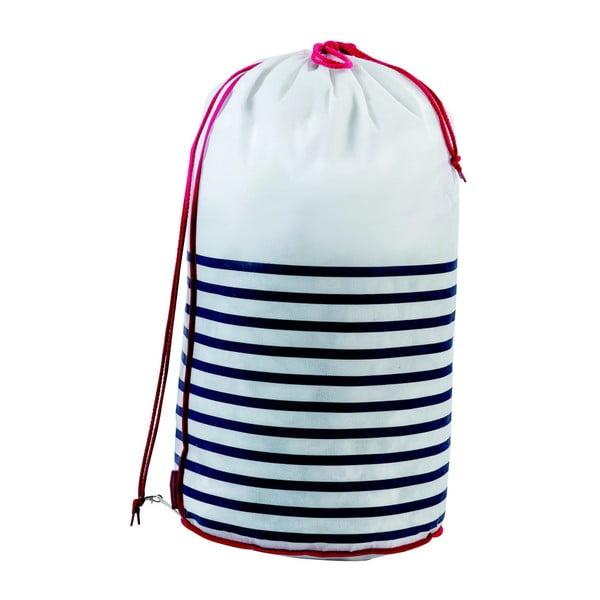 Vak na bielizeň Compactor Laundry Bag Stripes
