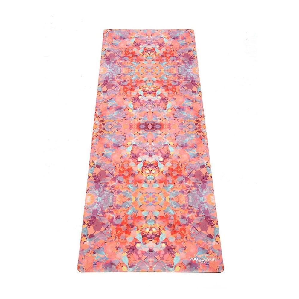 Podložka na jogu Yoga Design Lab Travel Kaleidoscope, 900 g