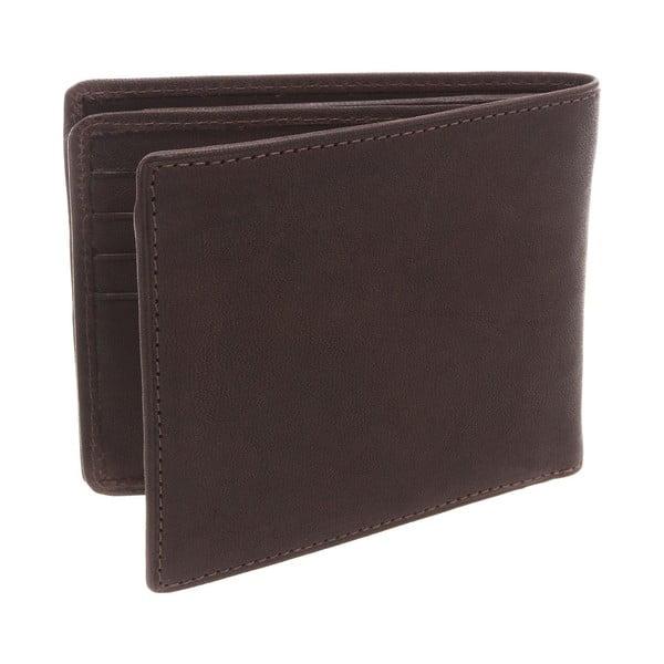 Kožená peňaženka Merrick Brown