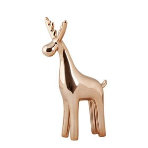 Dekoratívna soška KJ Collection Reindeer Ceramic Copper