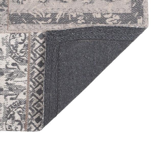 Koberec Chenille, 70x110 cm, sivo-béžový