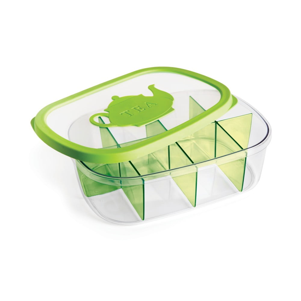 Zelená krabička na čaj Snips Tea