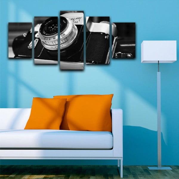 Viacdielny obraz Black&White Camera
