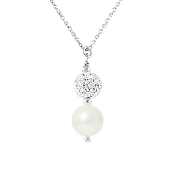 Náhrdelník s riečnymi perlami Theodora
