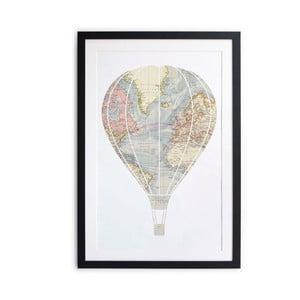 Obraz Little Nice Things Hot Air Balloon, 40 x 60 cm