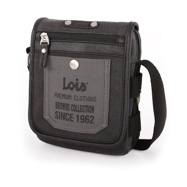 Taška cez rameno Lois Black, 16x20 cm