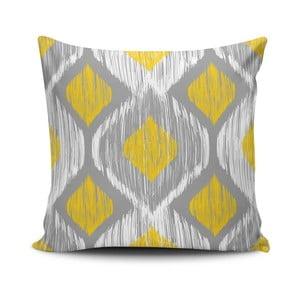 Vankúš s prímesou bavlny Cushion Love Geo, 45 × 45 cm
