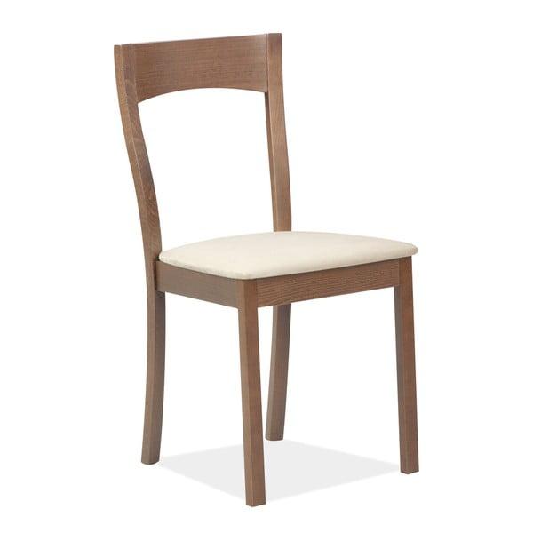 Jedálenská stolička Teddy, tmavé drevo