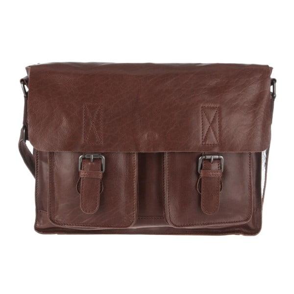 Kožená taška Midhurst Conker Brown