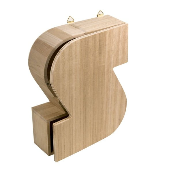 Nástenný box Letter S