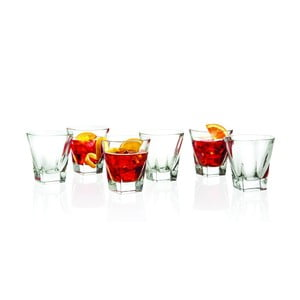 Sada 6 pohárov RCR Cristalleria Italiana Foggia, 270 ml