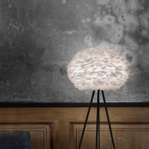 Biele tienidlo z husieho peria VITA Copenhagen EOS, Ø45 cm