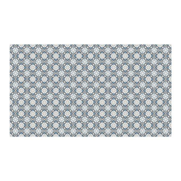 Vinylový koberec Orient Blue, 52x180 cm