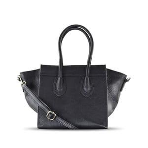Kožená kabelka Rose, čierna