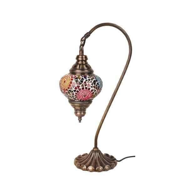 Sklenená lampa Fishing II, 13 cm