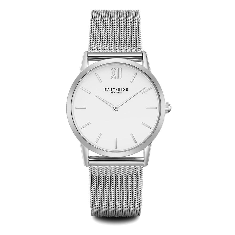 Dámske hodinky v striebornej farbe s bielym ciferníkom Eastside Upper Union 7d85dcbd8f4