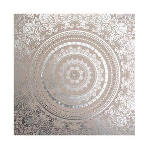Zdobený látkový obraz Graham & Brown Cocoon, 80 x 80 cm