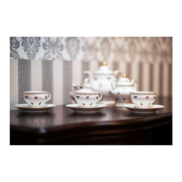 21-dielna porcelánová sada Rococo