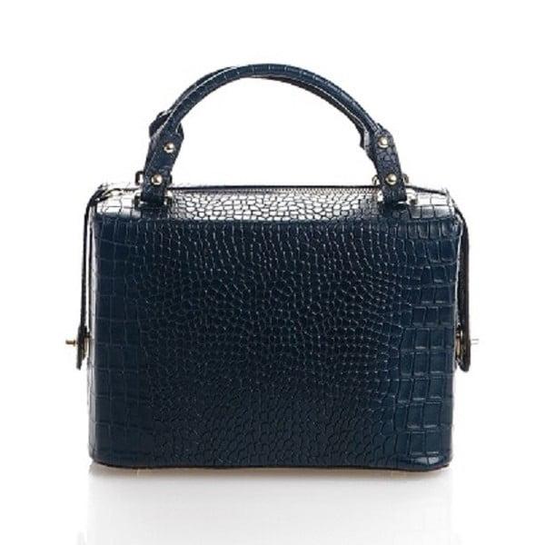 Kožená kabelka Emilie, modrá