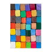 Vinylový koberec Colorful, 52×75cm