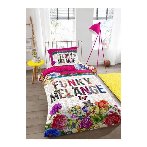 Obliečky na jednolôžko Melli Mello Funky Melange, 140 x 200 cm