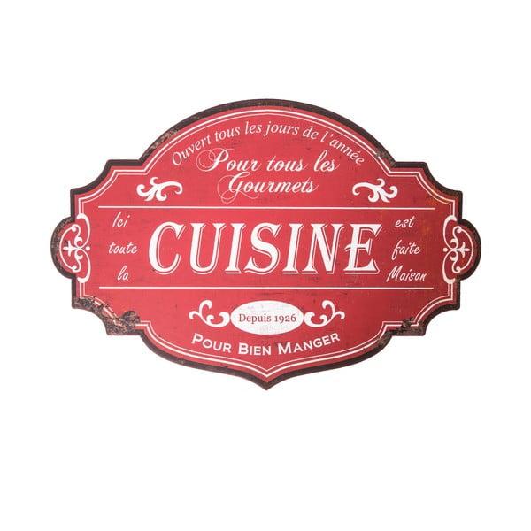 Nástenná ceduľa Antic Line Cuisine Pour