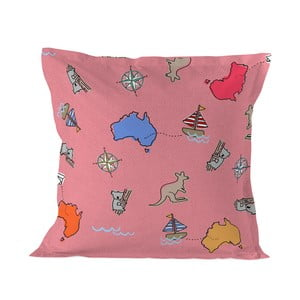 Obliečka na vankúš Baleno Kangaroo Pink, 60×60 cm
