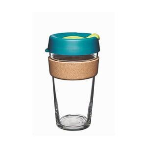 Cestovný hrnček s viečkom KeepCup Brew Cork Edition Turbine, 454 ml