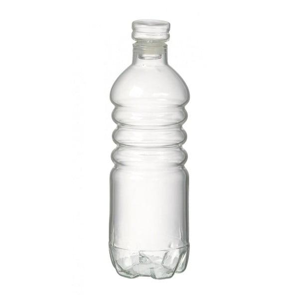 Sklenená fľaša Clear