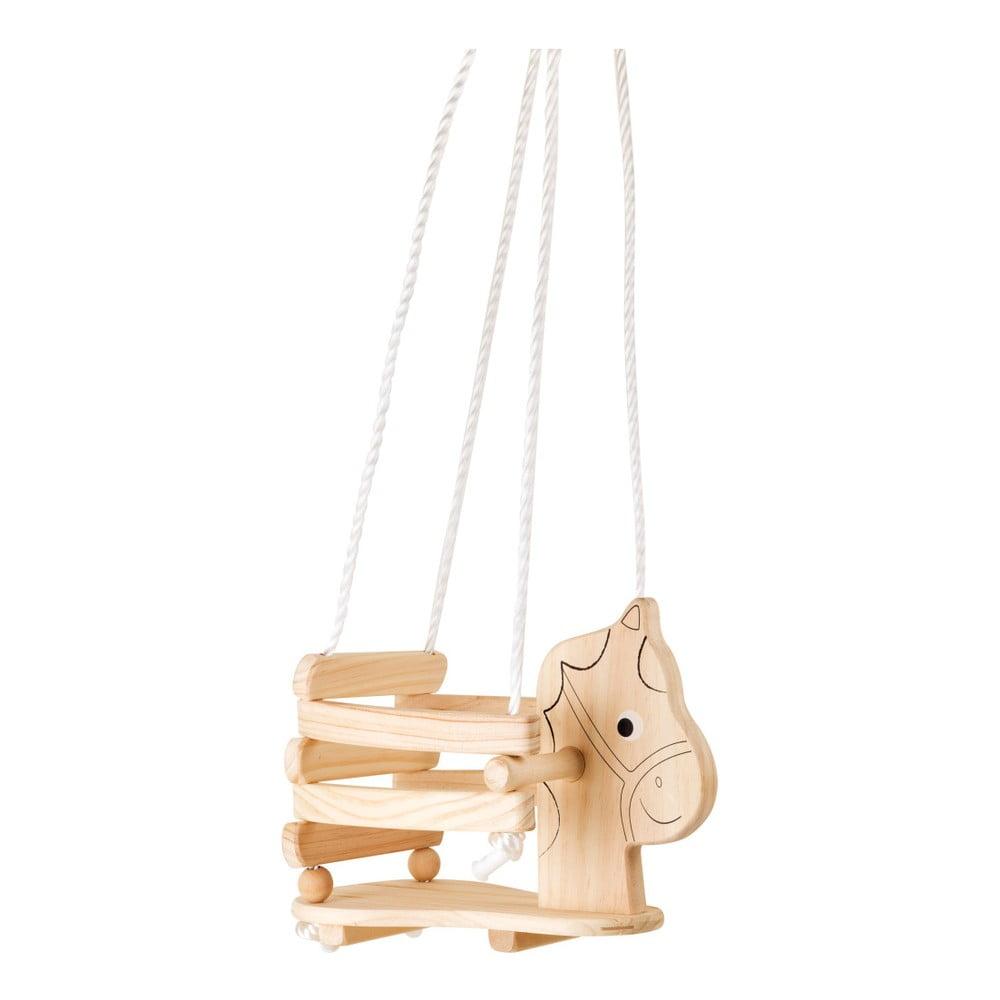 Drevená hojdačka v tvare koníka Legler Horse