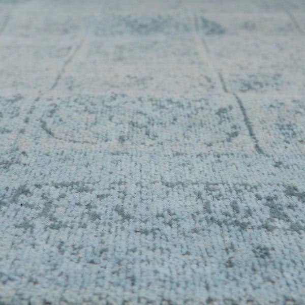 Koberec Chenille, 120x180 cm, svetlomodrý