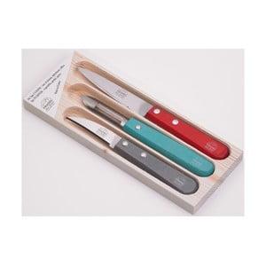 Sada 2 nožíkov a škrabky Jean Dubost Color