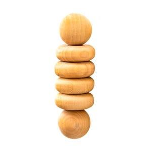 Strojček z brezového dreva pre masáž dlaní Altayka Húsenica