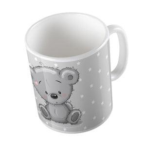 Hrnček Mr. Little Fox Grey Teddy, 330ml