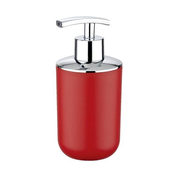 Červený dávkovač na mydlo Wenko Brasil Red