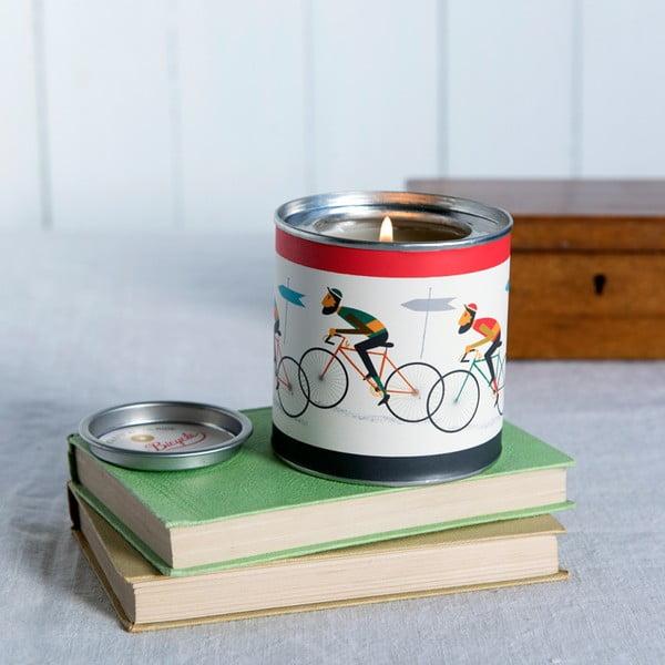 Sviečka s vôňou čistej bavlny Rex London Le Bicycle, dĺžka horenia 40 hodín
