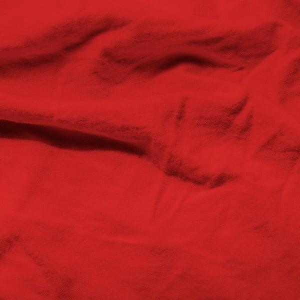 Červená elastická plachta Homecare, 80-100 x 200 cm
