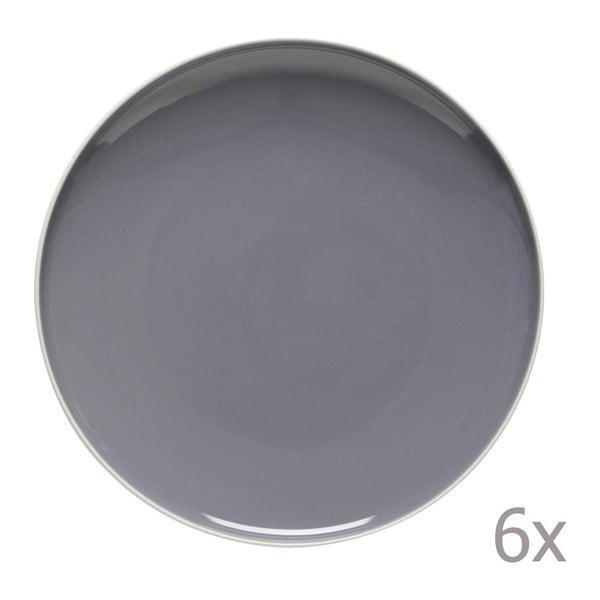Sada 6 jedálenských tanierov Sorbetto