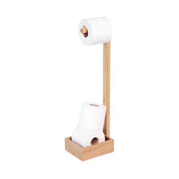 Drevený stojan na toaletný papier Wireworks Mezza